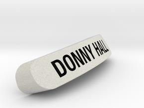 DONNY HALL Nameplate for SteelSeries Rival in Full Color Sandstone