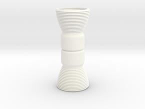 Custom Mini Engine Bells for BT-5 body tubes in White Processed Versatile Plastic