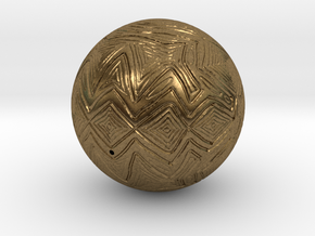 Christmas Tree Ornament #24 in Natural Bronze