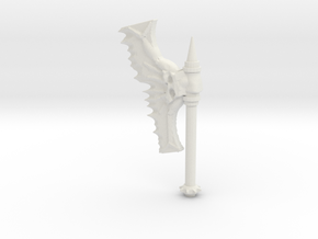 Daemonic Axe 02 in White Strong & Flexible