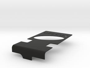 Uzebox Cover  in Black Natural Versatile Plastic