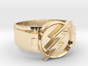 Flash Ring size 11 20.68mm  in 14K Yellow Gold