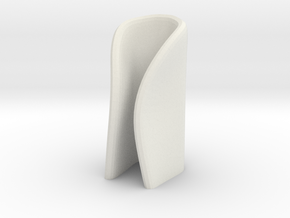 candle holder small in White Natural Versatile Plastic