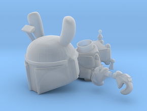 Boba Bunny in Smooth Fine Detail Plastic