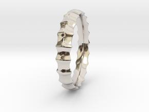 MODEUS Sea Designer Jewelry Ring in Platinum