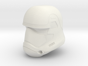 "Episode 7 Stormtrooper Helmet for 6"" figures in White Natural Versatile Plastic"