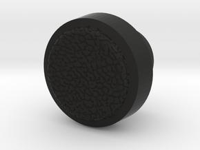 Toyota Radio Knob (inner) - High Polygon in Black Natural Versatile Plastic