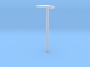 1/160 - DSB Stations lampe (VIA) in Smooth Fine Detail Plastic