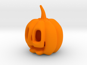 Jack-o'-lantern in Orange Strong & Flexible Polished