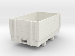 Gn15 small 5ft open wagon in White Strong & Flexible