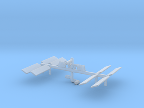 Space Station 3DP in Smooth Fine Detail Plastic