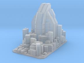 Futuristic city concept 2 - City of Minerva in Smooth Fine Detail Plastic