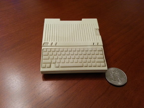 Apple IIc Raspberry Pi Model A+ Case   in White Natural Versatile Plastic
