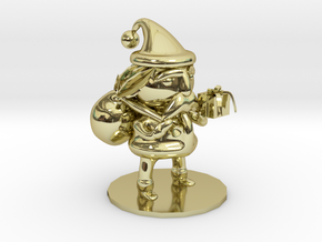 Santa Claus in 18k Gold