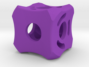Dice93 in Purple Processed Versatile Plastic