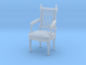 Georges Jacob Chair  1/12TH scale  (1739-1814) in Smooth Fine Detail Plastic