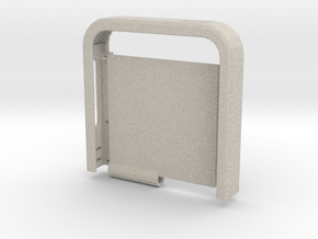 Two-Tone Multifunctional Iphone 5 Case (Top Half) in Natural Sandstone