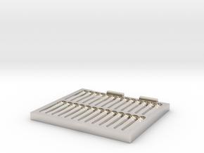 Portable Pinning Mat in Platinum