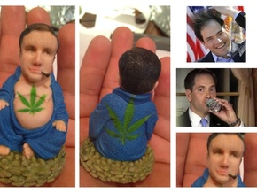 Cotton Mouth Marco Rubio Inaction Figure in Full Color Sandstone