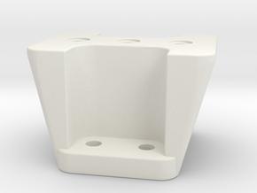 Lens Ankle (Tall) for Canon Super Telephoto Lens in White Natural Versatile Plastic