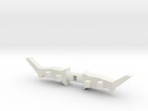 Mega bloks Power Bow in White Natural Versatile Plastic