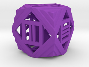 Dice98 in Purple Processed Versatile Plastic