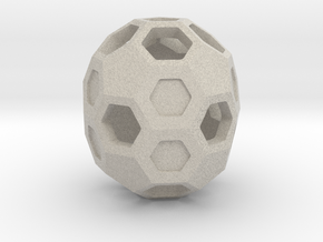 Buckyball C70 in Natural Sandstone