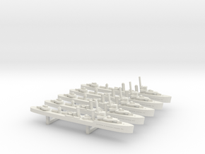 Lepanto (Churruca class) 1/1800 x5 in White Natural Versatile Plastic