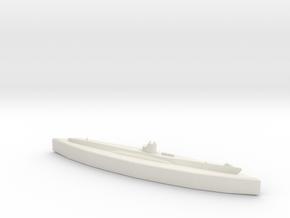 U-48 (Type VIIB U-Boat) 1/1800 in White Natural Versatile Plastic