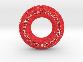 Undead Torus Revisited in Red Processed Versatile Plastic
