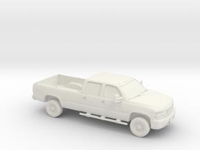 1/87 2006 GMC Sierra 2500 SLE Duramax  in White Natural Versatile Plastic