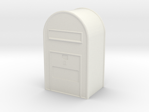 1/160 Post Danmark - Postkasse in White Natural Versatile Plastic