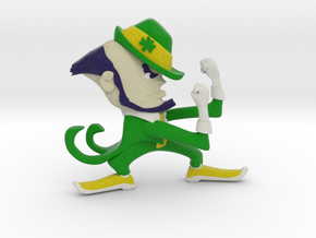 Fighting Irish Figurine in Full Color Sandstone