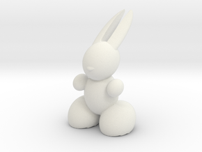 Rabbit Robot in White Strong & Flexible