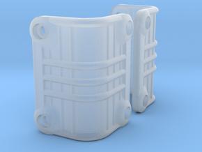 Vaterra Ascender Rear Light Bucket Covers in Smooth Fine Detail Plastic