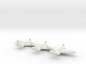 P-36/Hawk 75/Mohawk (Triplet) 1/900 in White Natural Versatile Plastic