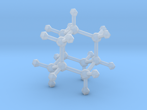 Adamantane in Smooth Fine Detail Plastic