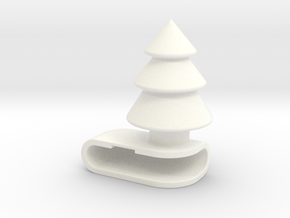 Iphone6 Tree in White Processed Versatile Plastic
