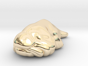 Blobfish   in 14K Yellow Gold
