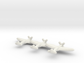 Seafire Mk. III (Triplet) 1/900 in White Natural Versatile Plastic