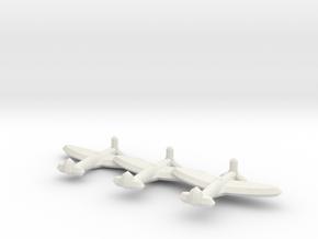 Spitfire Mk. I/V  (Triplet) 1/900 in White Natural Versatile Plastic