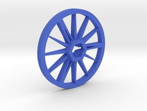 Needle-Fly 8n :: Robot Wheel for 8mm nuts in Blue Processed Versatile Plastic