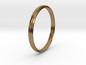 New Ring Design in Natural Brass