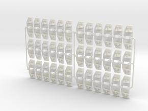 "GWR 1in7 BC ""Slab & Bracket"" chair - 36 in White Natural Versatile Plastic"