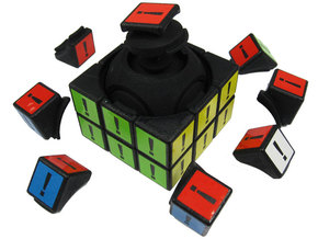 Explo Cube in White Strong & Flexible