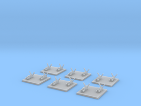 "Taiidan ""Naaris"" Heavy Corvettes (6) in Smooth Fine Detail Plastic"