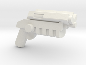 Grapnel Gun V1.1 in White Strong & Flexible