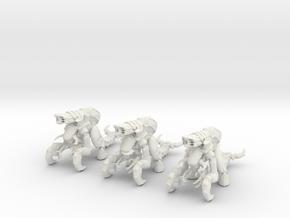 Plasmavore 01-#1 III 28mm in White Natural Versatile Plastic