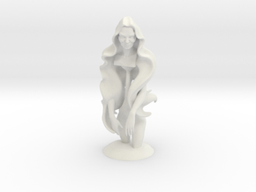 WomanSculpture in White Strong & Flexible