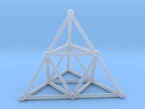 TETRAHEDRON (stage 2) in Smooth Fine Detail Plastic